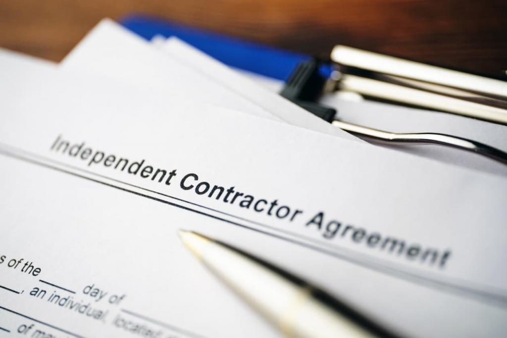 1099 employee agreement