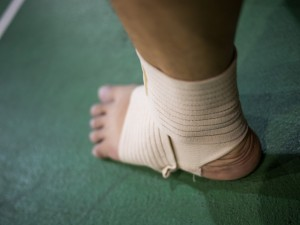 st louis ankle injury workers comp