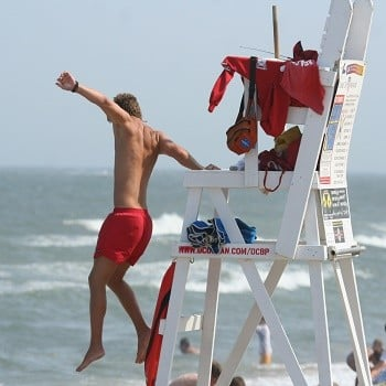 lifeguard-working
