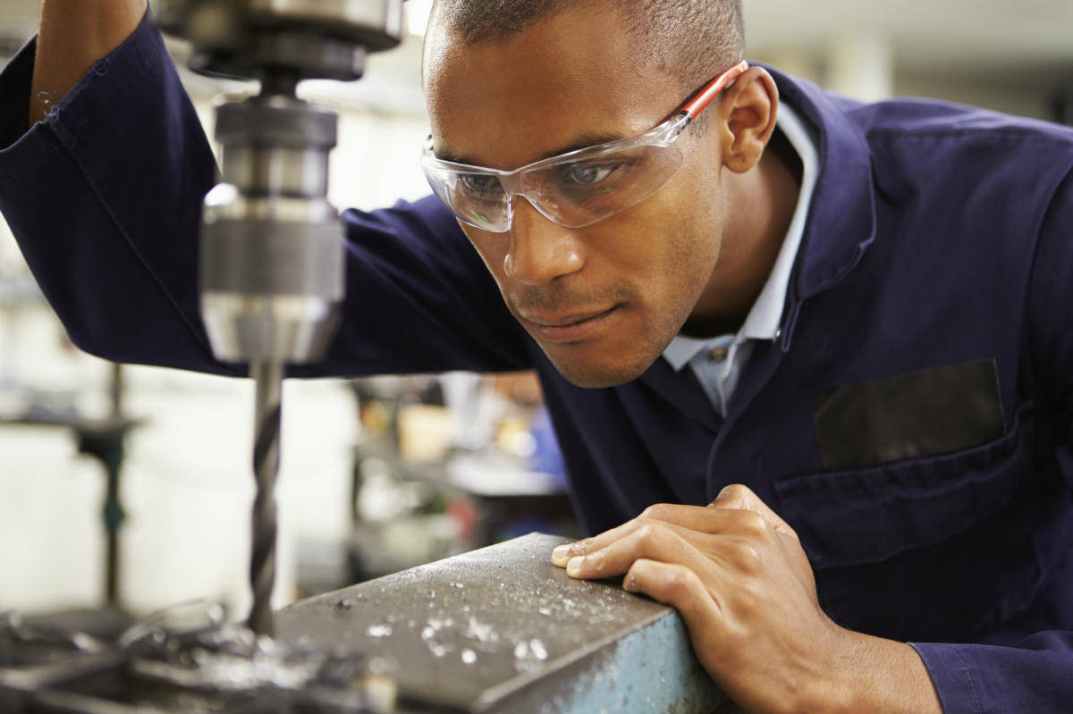 manufacturing work injury