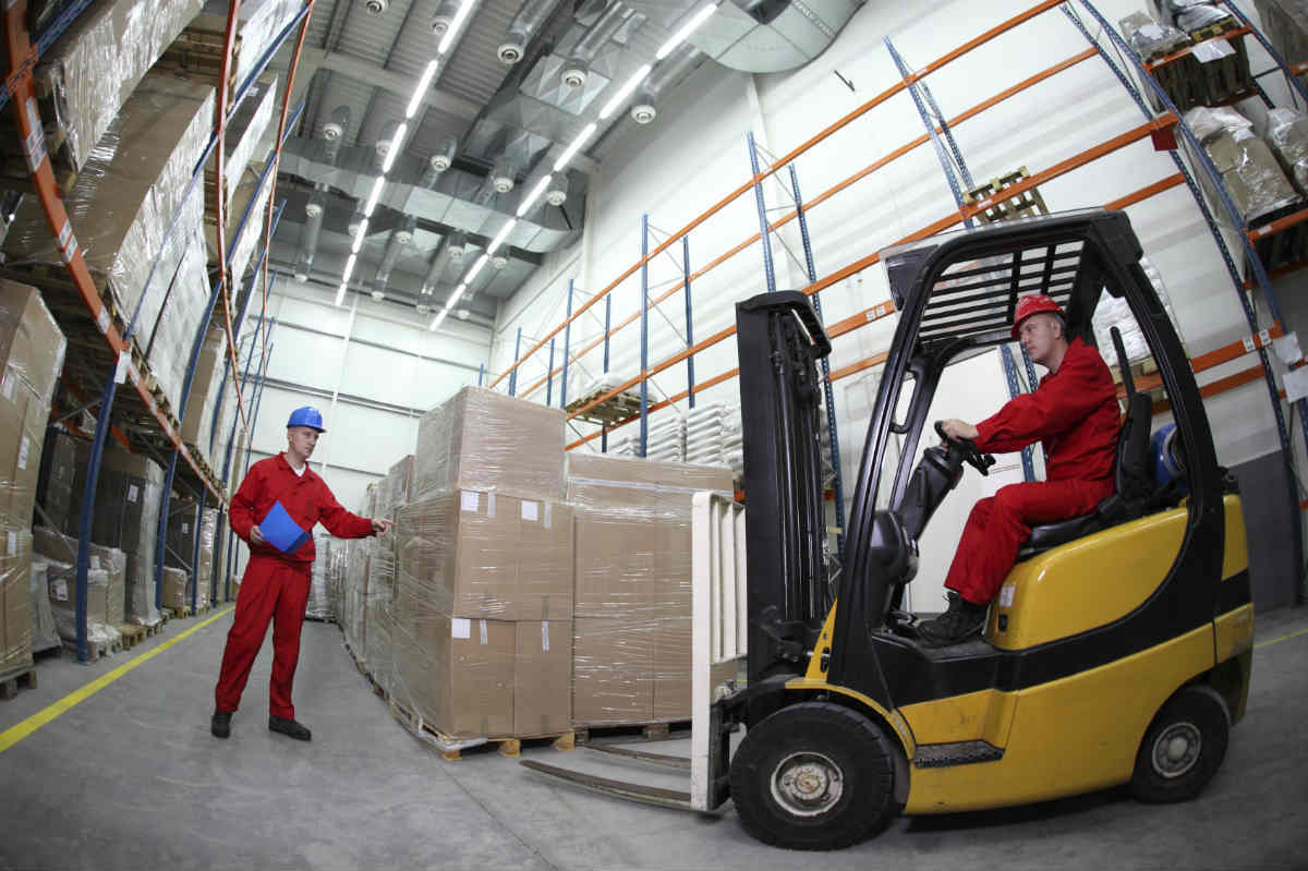forklift accident workers comp