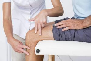 knee injury at work in Missouri