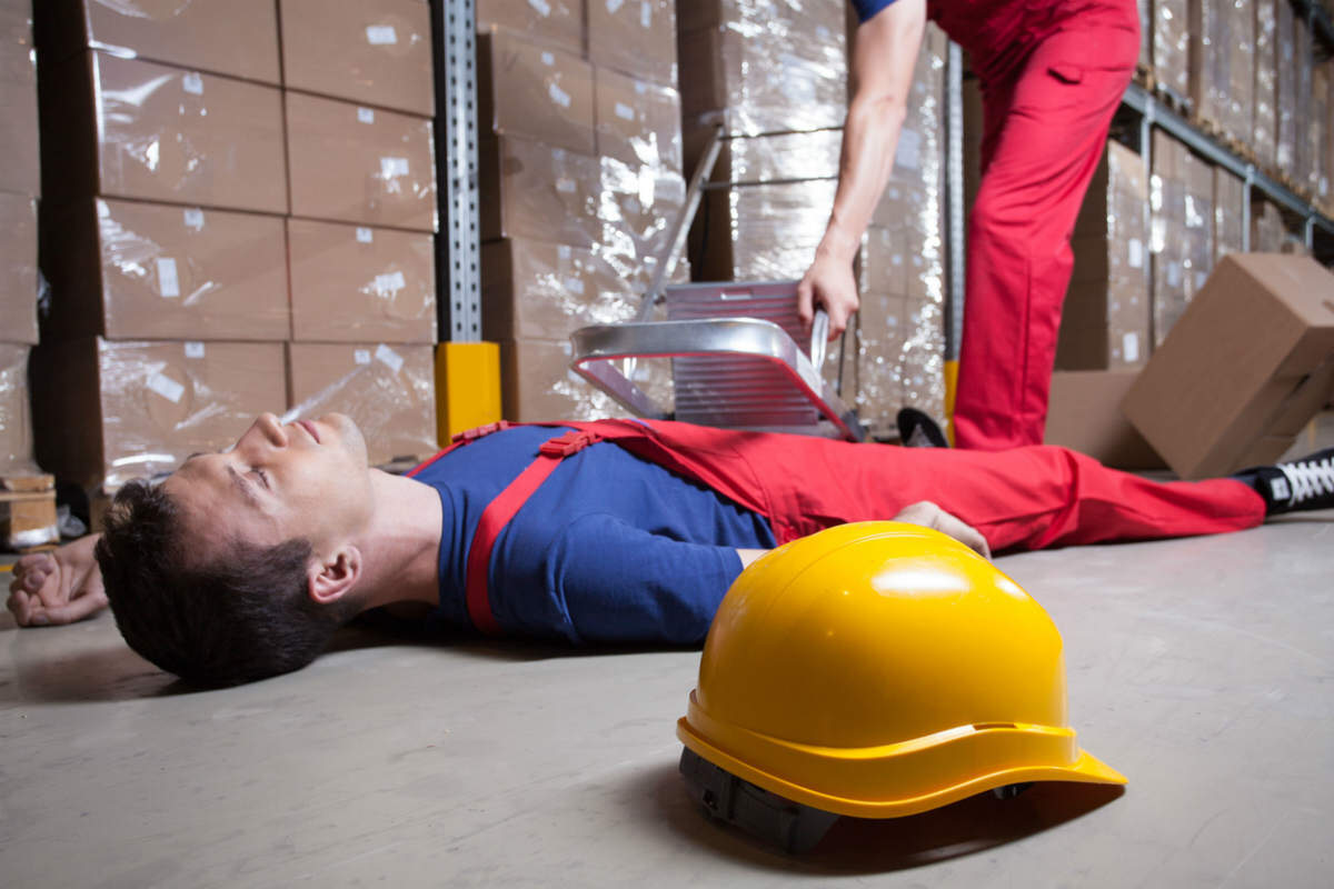 st louis injured worker fall injuries