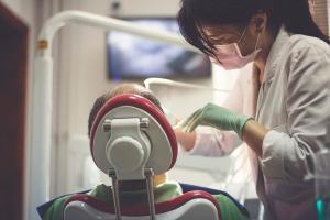 Dental injury at work