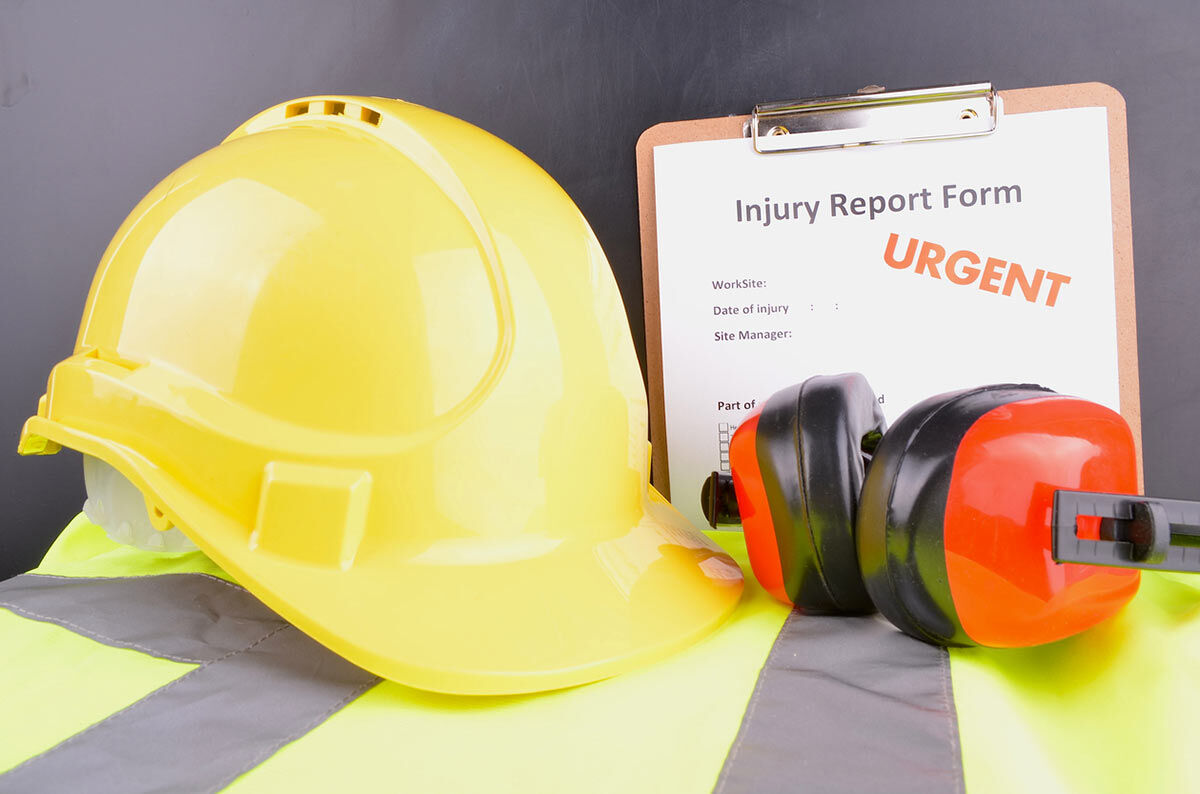 I didn't report my work injury