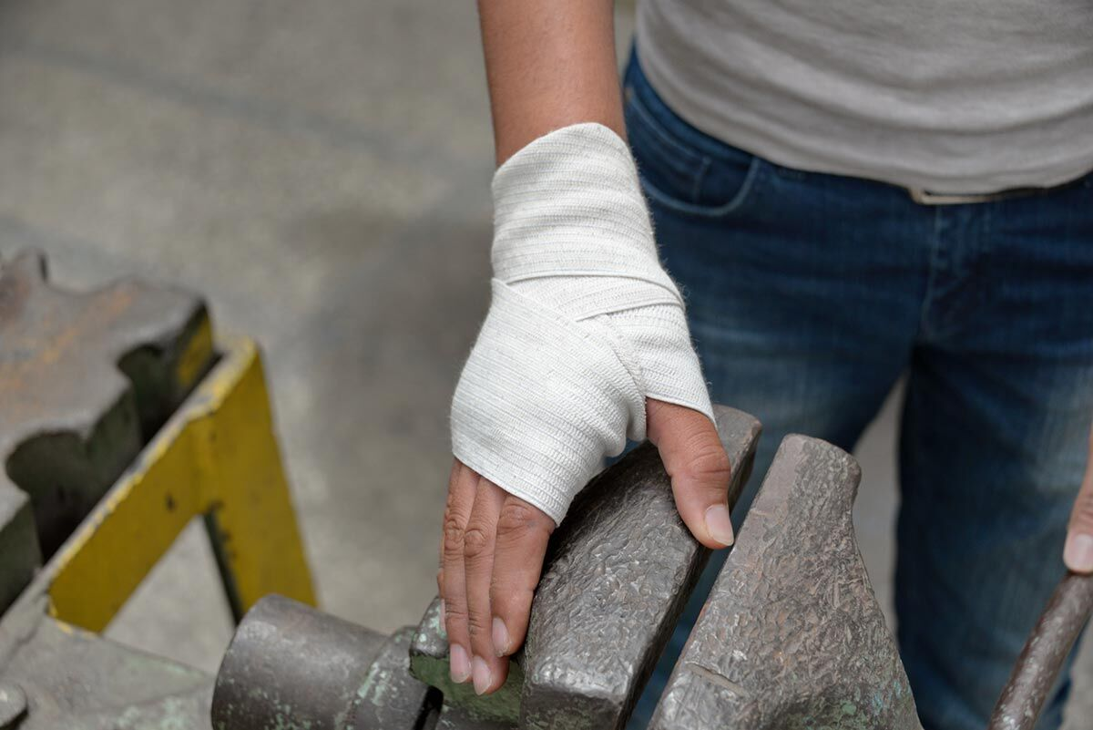 St Louis work accident injury