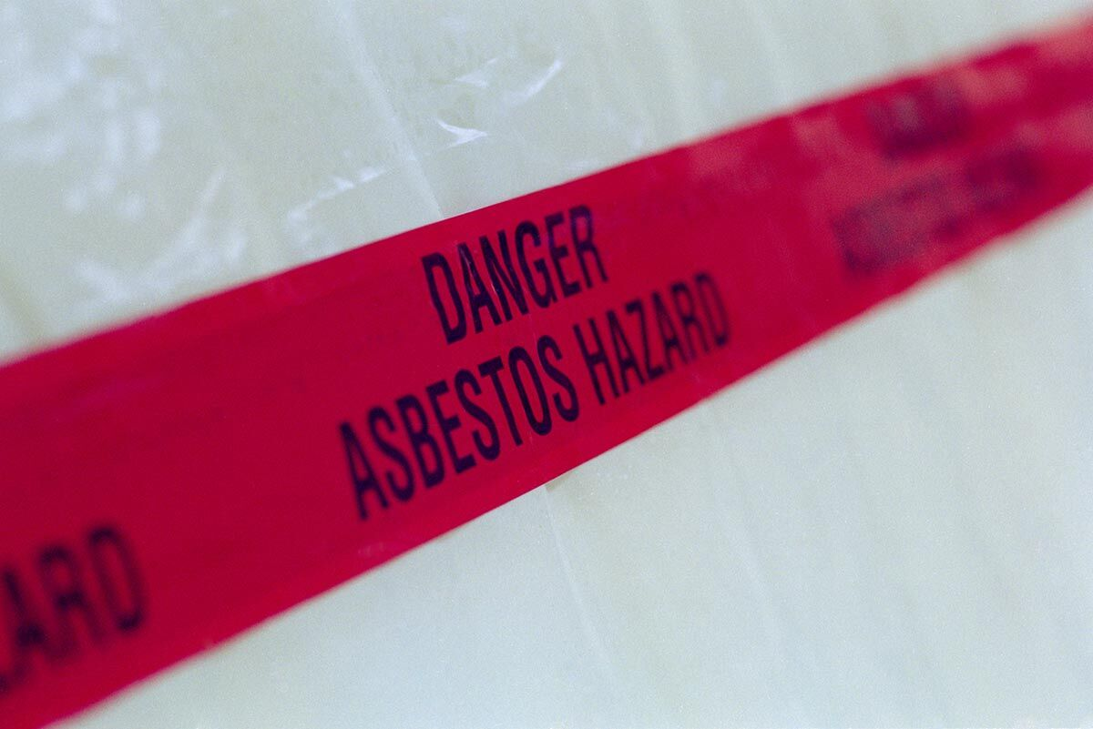 Exposure to asbestos in St. Louis