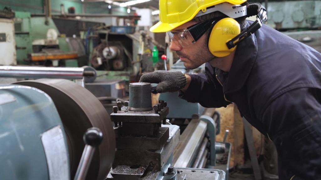 missouri worker using heavy machinery