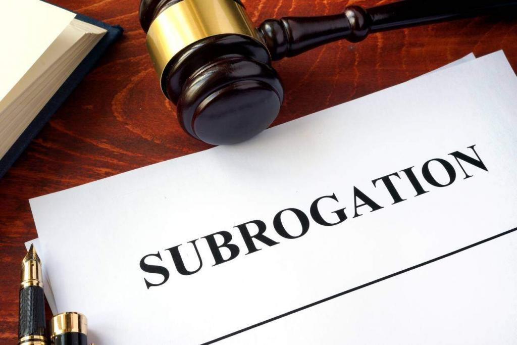 subrogration workers comp
