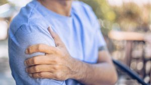 st. louis man with work-related shoulder injury