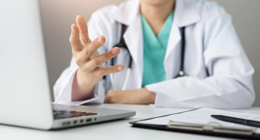 telemedicine doctor visit