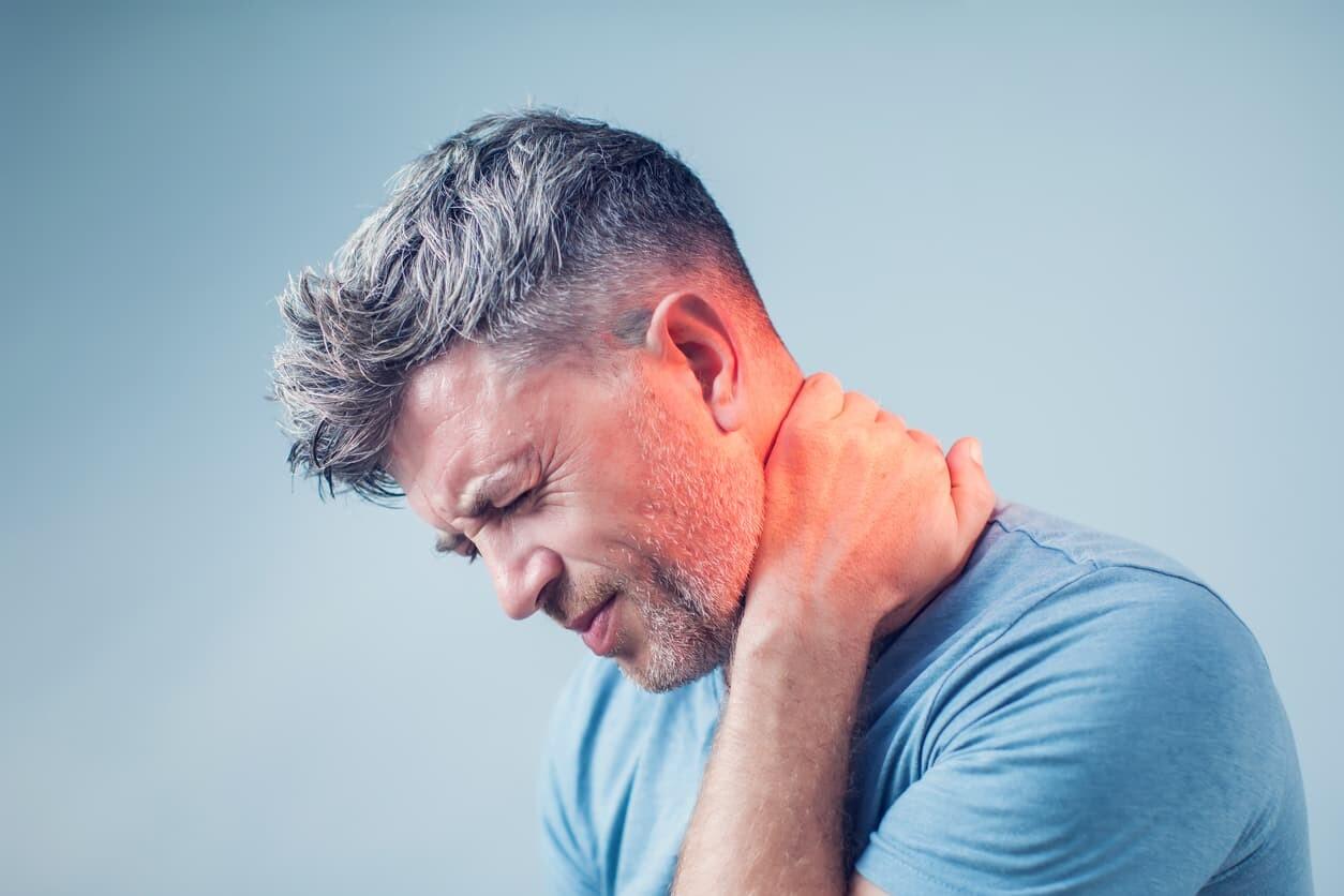 neck injury at work