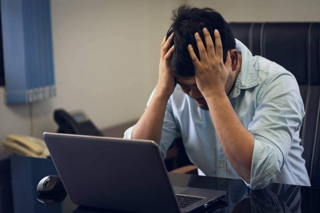 man upset after workers comp benefits are denied